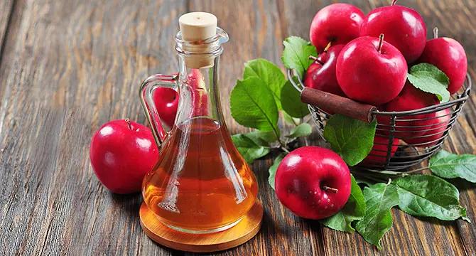 Яблочный уксус защитит от бактерий
