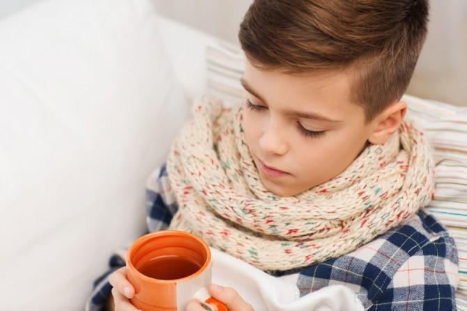 Лечение гриппа и ОРВИ у малышей